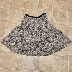 Filigree skirt